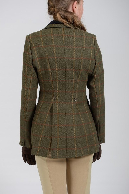 Bridleway | Tweed Hacking Jacket | Ladies | Green - RB Equestrian