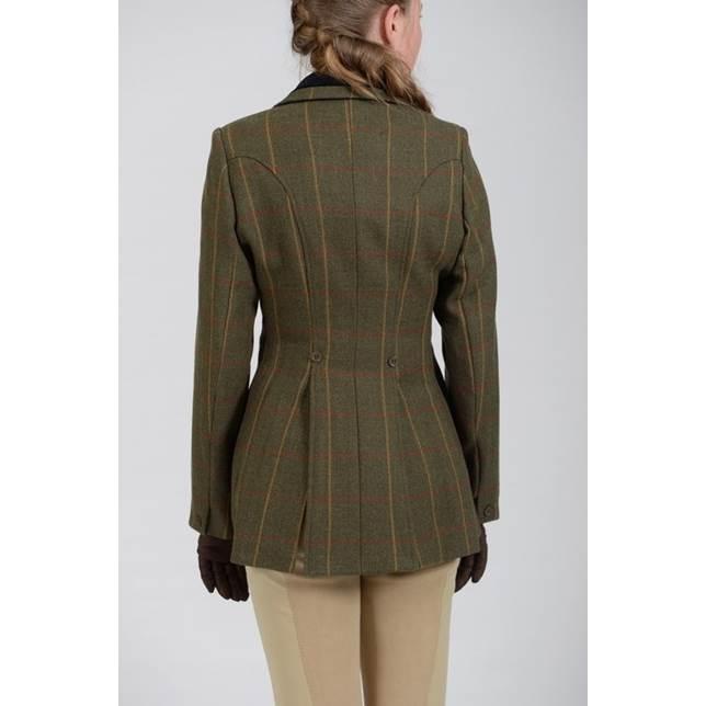 Bridleway | Tweed Hacking Jacket | Ladies | Green - RB Equestrian