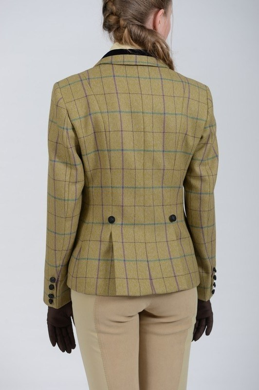 Mears | Firenze Tweed Jacket | Ladies | Green and Purple - RB