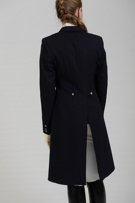Pikeur Tailcoat Shadbelly Ladies In Navy Rb Equestrian