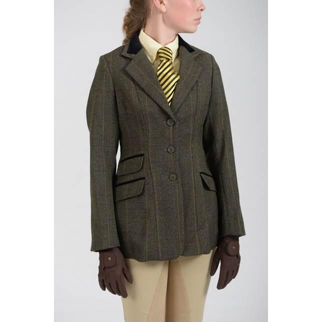 Shires | Huntingdon Tweed Jacket | Ladies | Green - RB Equestrian