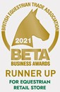 BETA 2021 award runner up for Equestrian store